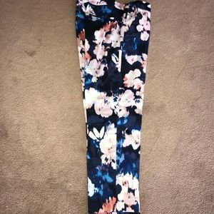Saint Tropez flower print cropped pants